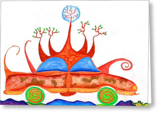Autoviana Greeting Card