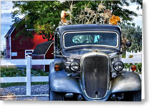 Autum Days Greeting Card by Image Takers Photography LLC - Laura Morgan