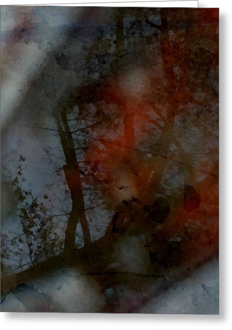 Greeting Card featuring the photograph Autumn Abstract by Photographic Arts And Design Studio