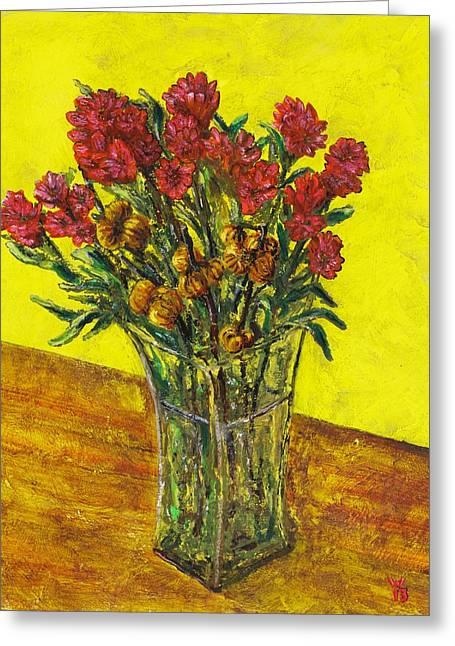 Autumn Arrangement Greeting Card