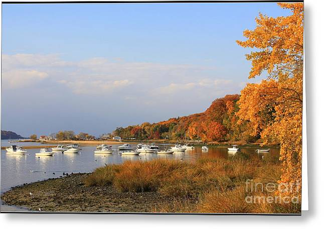 Autumn At Cold Spring Harbor Greeting Card