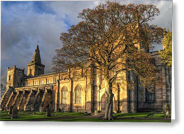 Autumn At Dunfermline Abbey Greeting Card