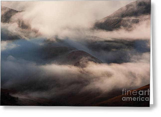 Autumn At Glen Etive Greeting Card