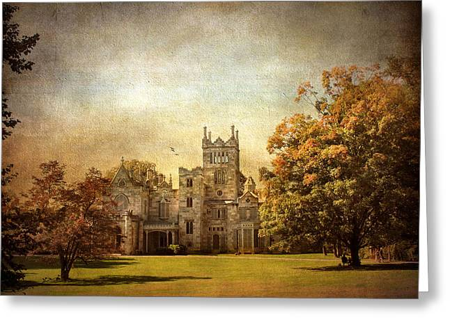 Autumn At Lyndhurst Greeting Card by Jessica Jenney
