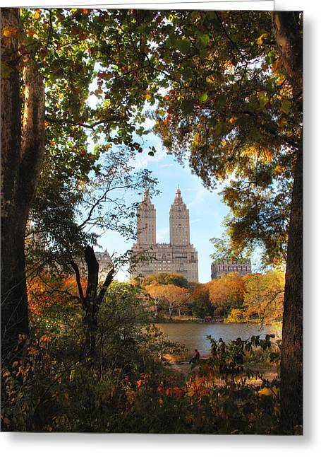 Autumn At San Remo Greeting Card