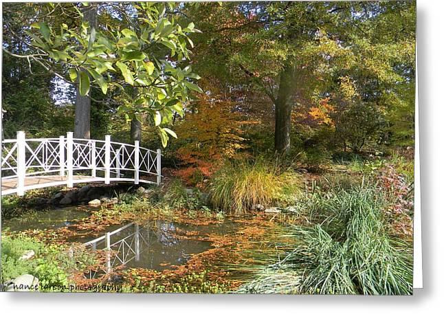 Autumn At Sayen Gardens Greeting Card
