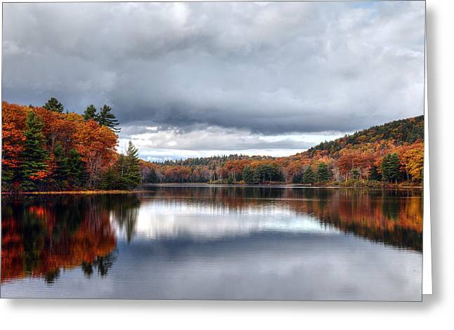 Autumn At Spectacle Pond Greeting Card