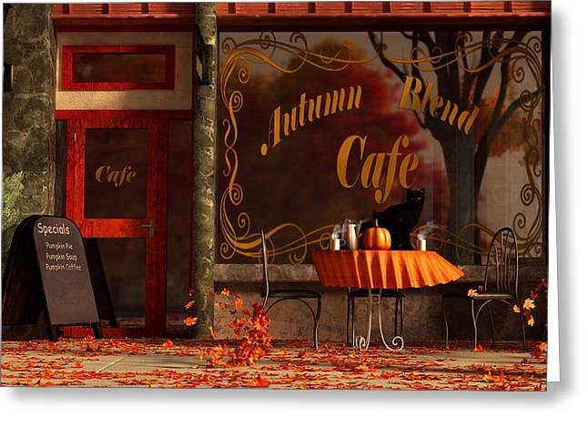 Autumn Blend Greeting Card by Daniel Eskridge