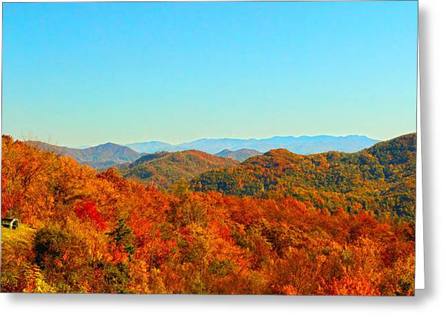 Autumn Blue Ridge Greeting Card