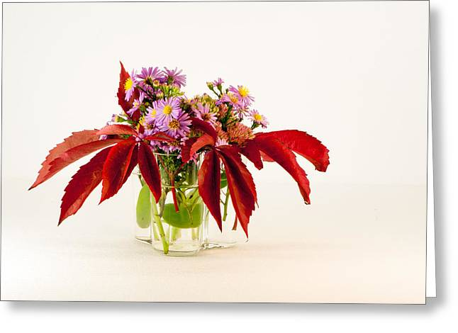 Autumn Bouquet Greeting Card by Torbjorn Swenelius