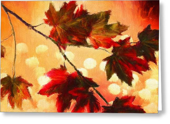 Autumn Branch Greeting Card