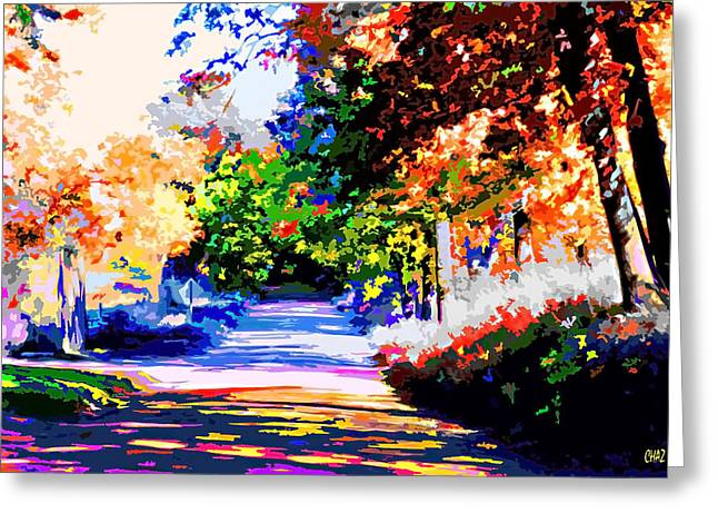 Autumn Greeting Card by CHAZ Daugherty