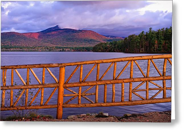 Autumn Chocorua Greeting Card
