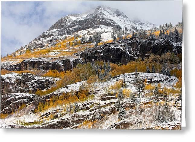 Autumn Clearning Greeting Card by Darren  White