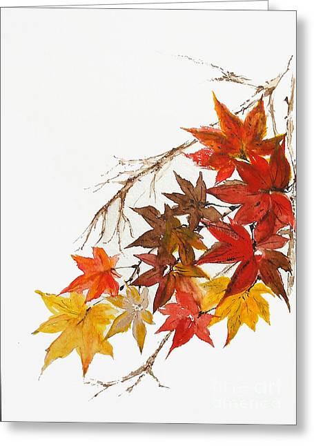 Autumn Colour Greeting Card