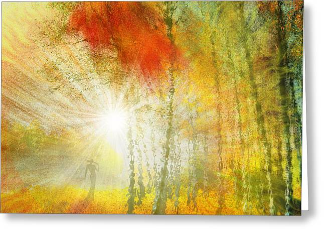 Autumn Colours Greeting Card by Igor Zenin