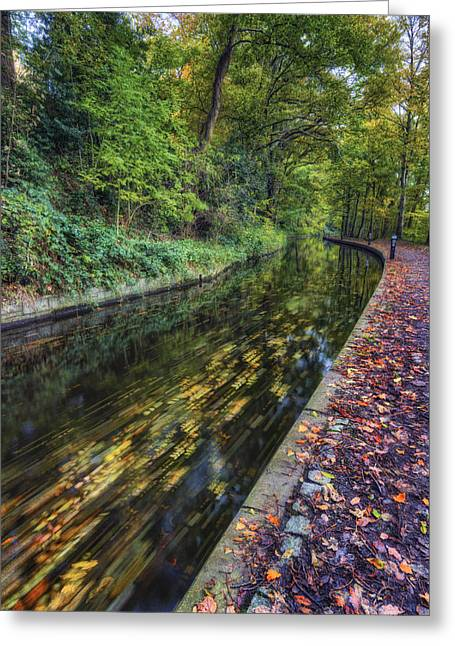 Autumn Colours Passing Greeting Card by Ian Mitchell