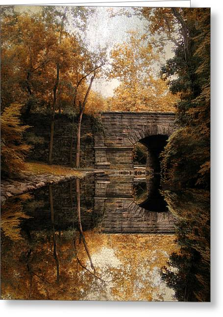 Autumn Echo Greeting Card by Jessica Jenney