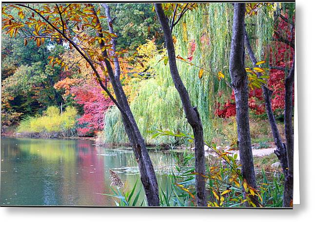 Autumn Fantasy Greeting Card