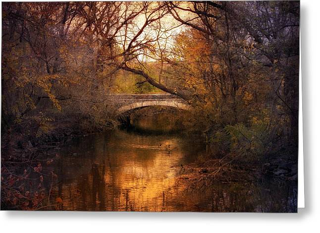 Autumn Finale Greeting Card by Jessica Jenney