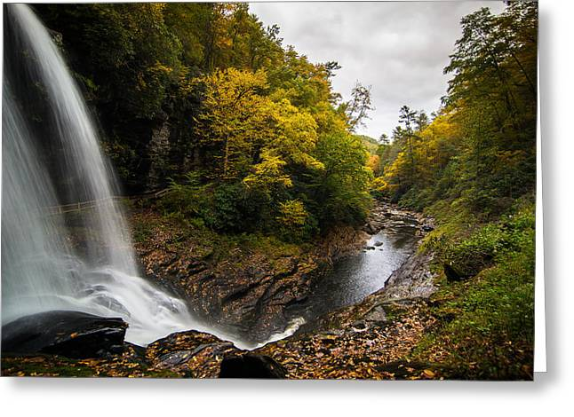 Greeting Card featuring the photograph Autumn Flow by Serge Skiba