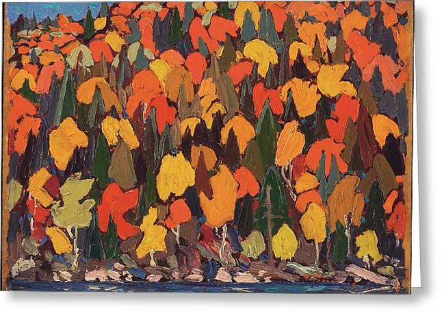 Autumn Foliage Greeting Card