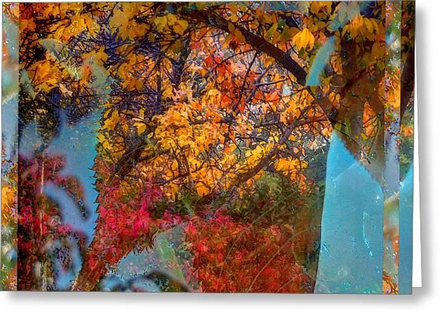 Autumn Fusion 5 Greeting Card