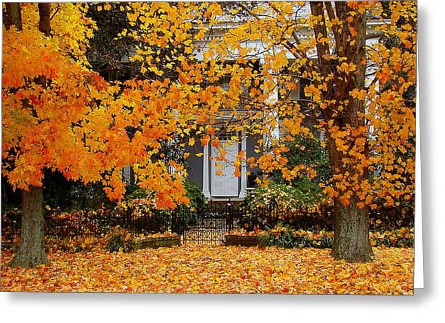 Autumn Homecoming Greeting Card