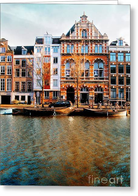 Autumn In Amsterdam  Greeting Card