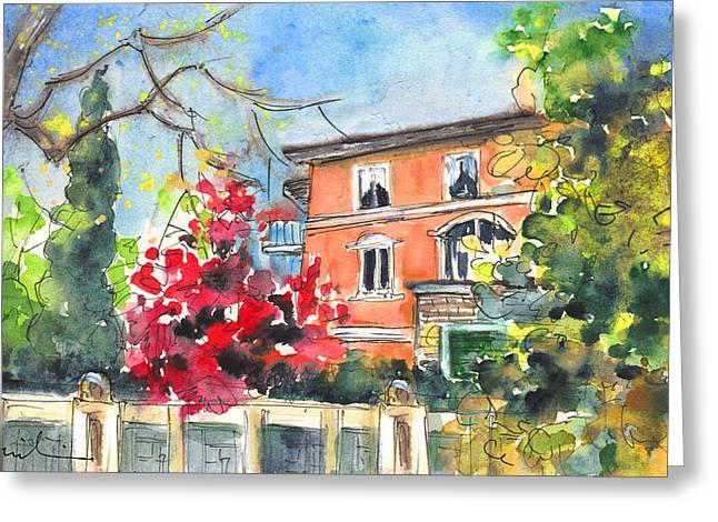 Autumn In Bergamo 01 Greeting Card