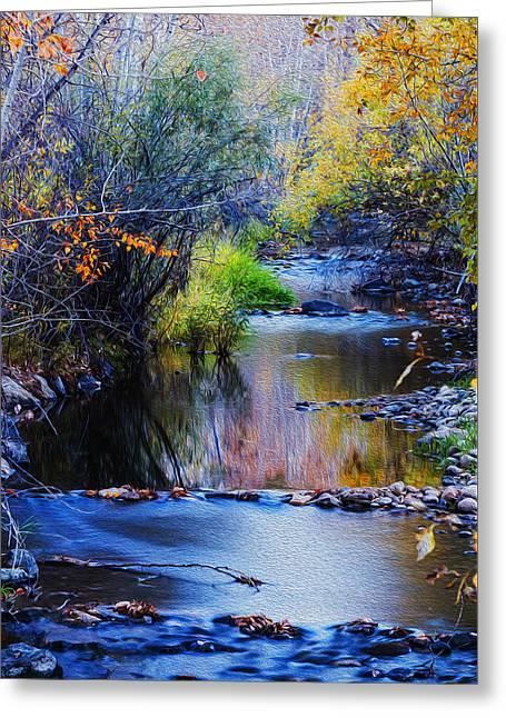 Autumn In Boise Idaho Greeting Card by Vishwanath Bhat