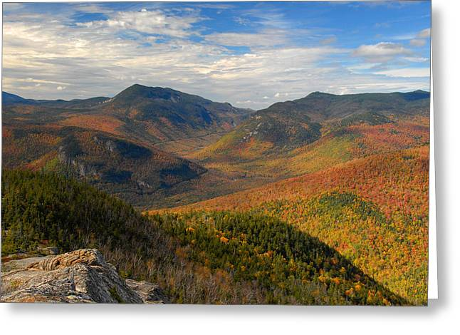 Autumn In Crawford Notch Greeting Card
