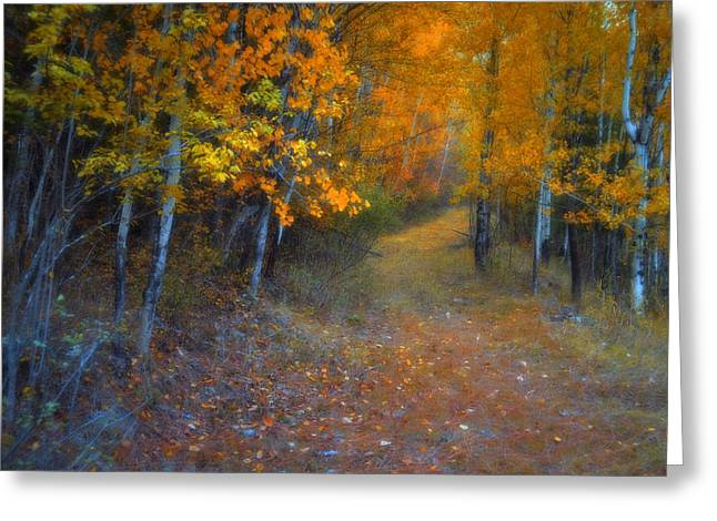 Autumn In Grand Forks Greeting Card