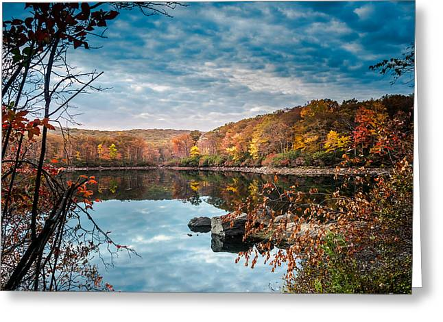 Autumn In Harriman State Park Greeting Card