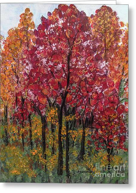 Autumn In Nashville Greeting Card