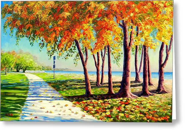 Autumn In Ontario Greeting Card