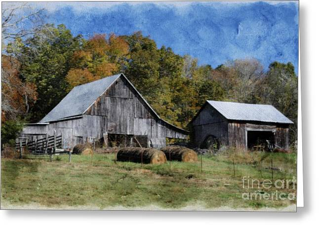 Autumn In Tennessee Greeting Card by Benanne Stiens