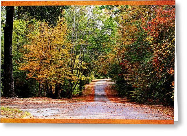 Autumn In Texas Greeting Card