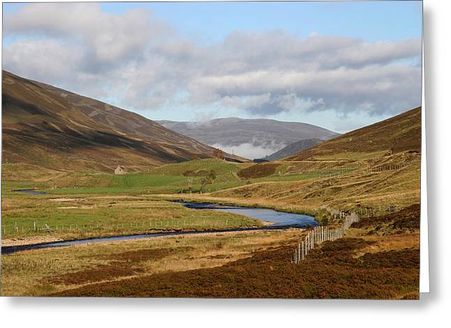 Autumn In The Cairngorms Greeting Card