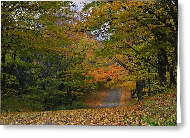 Autumn In The Caledon Hills Greeting Card