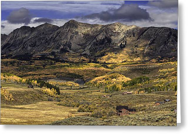 Autumn In The Valley Greeting Card