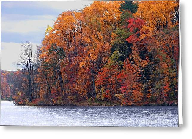 Autumn Is Upon Us Greeting Card by Gena Weiser