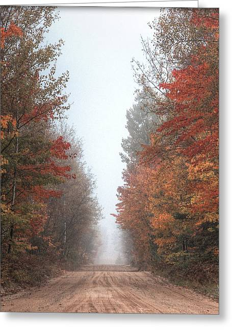 Autumn Journey Greeting Card