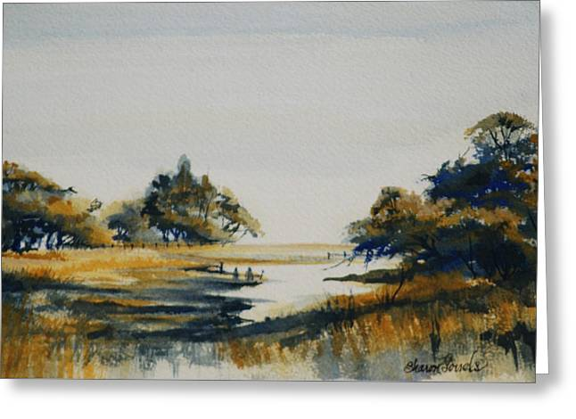 Autumn Marsh Greeting Card