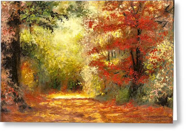 Autumn Memories Greeting Card