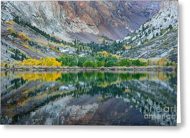 Autumn Mirror Greeting Card by Alexander Kunz