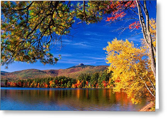 Autumn Mt Chocorua Nh Greeting Card
