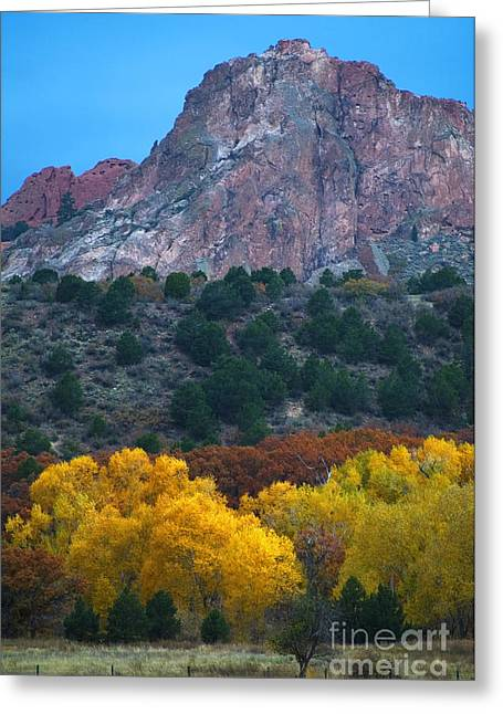 Autumn Of The Gods Greeting Card