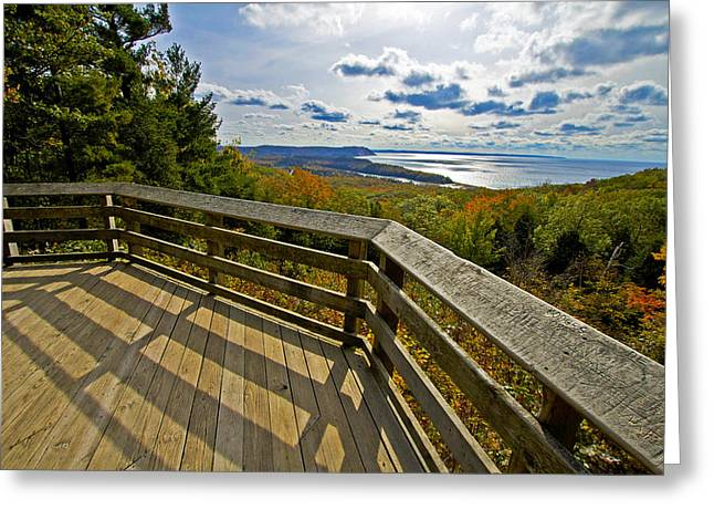 Autumn Overlook Greeting Card