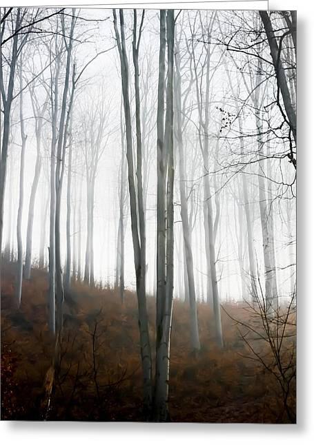 Autumn Pastel Greeting Card by Ioana Todor